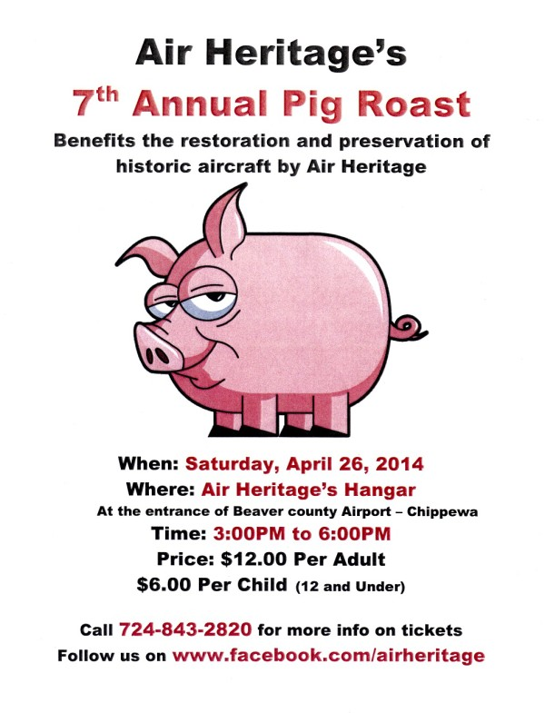 2014 Air Heritage Pig Roast