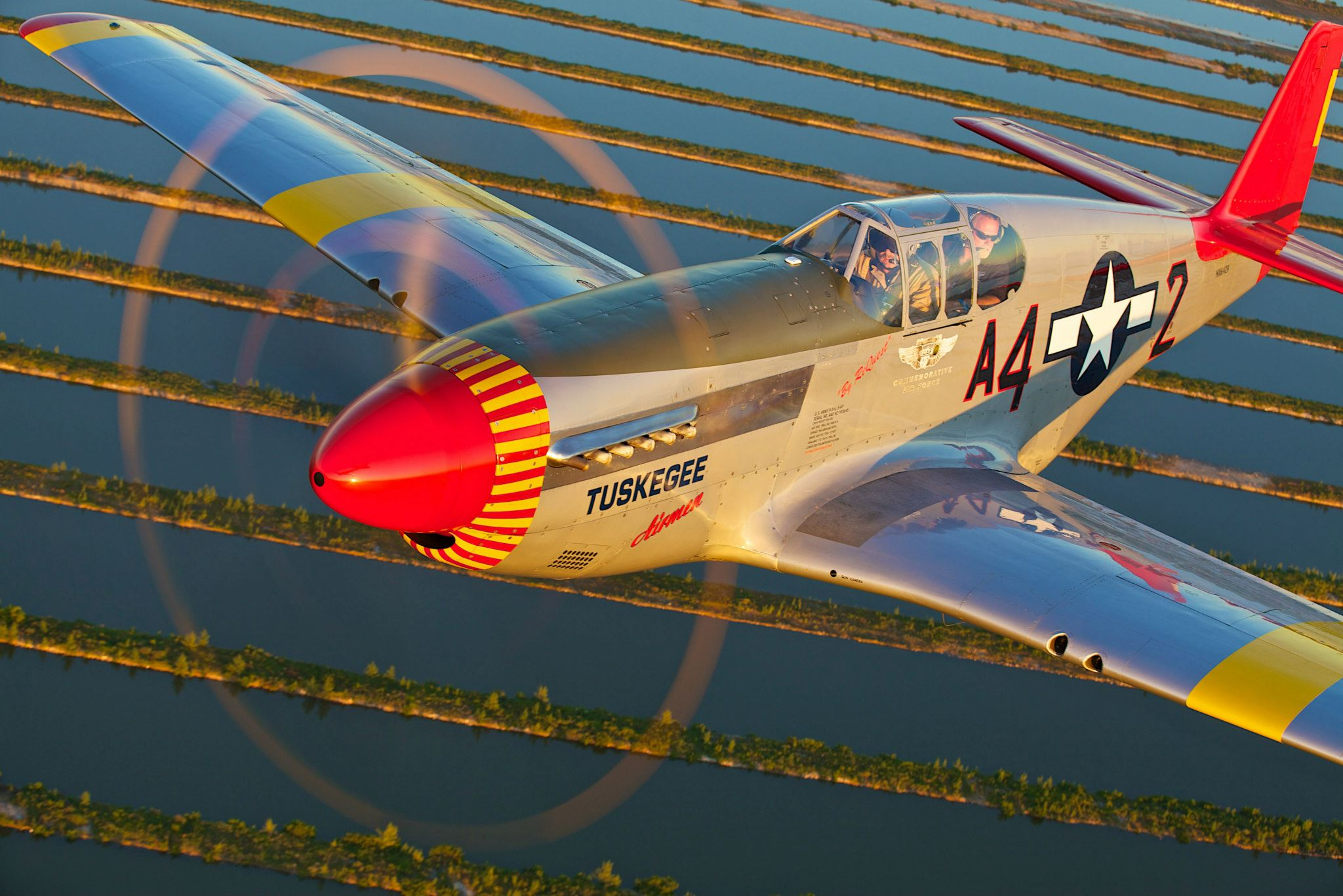 Win A Ride In A P-51C Mustang