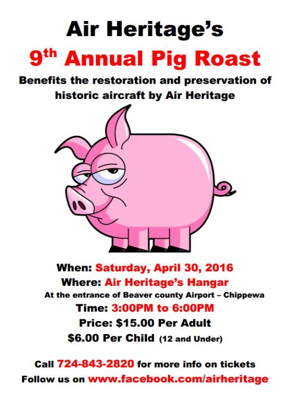2016 Air Heritage Pig Roast