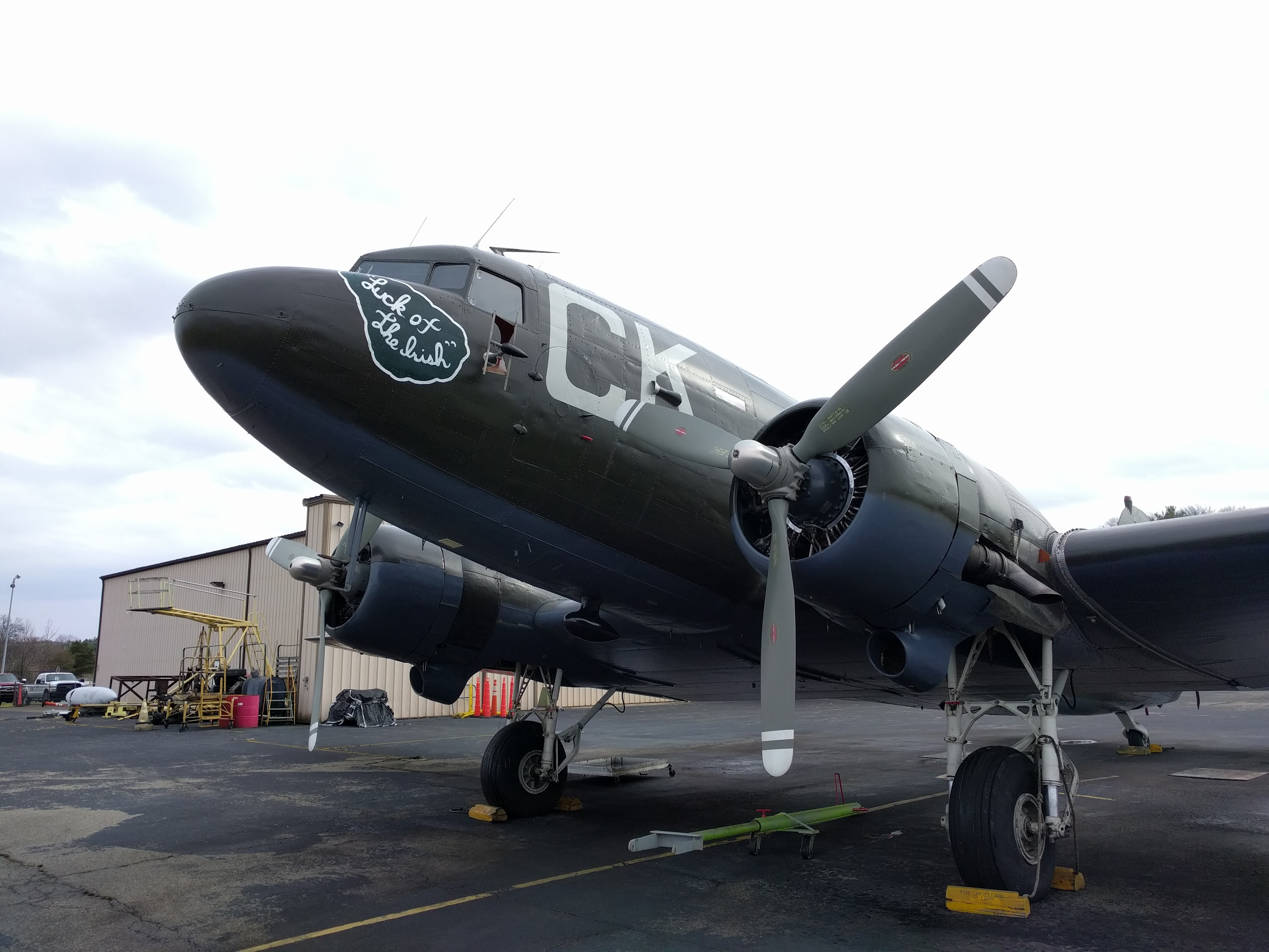 "Douglas C-47B Skytrain ""Luck Of The Irish"""
